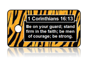 1 Corinthians 16:13 Bible Scripture Key Tags