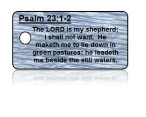 Psalm 23:1-2 Bible Scripture Key Tags