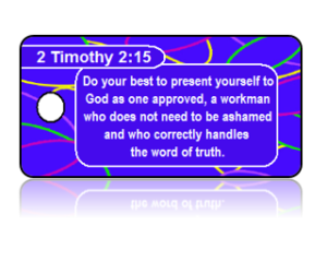 2 Timothy 2:15 Bible Scripture Key Tags