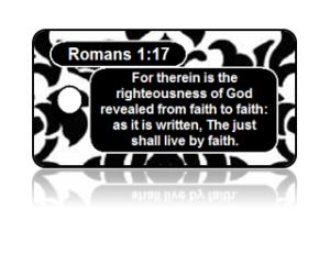 Romans 1:17 Bible Scripture Key Tags