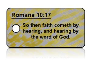 Romans 10:17 Bible Scripture Key Tags