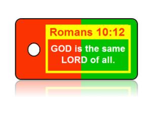Romans 10:12 Bible Scripture Key Tags