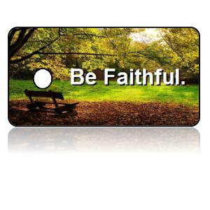 Faithful Motivational Key Tags
