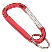 Carabiners D Shape Red