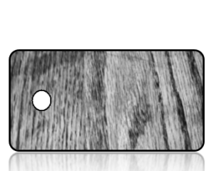 Create Design Key Tags Black White Wood Grain