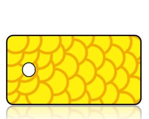 Create Design Key Tags Yellow Modern Background