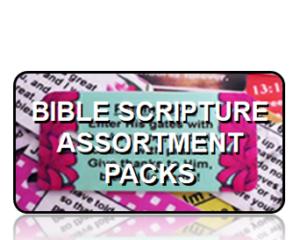 Bible Scripture Key Tags Assortment Packs