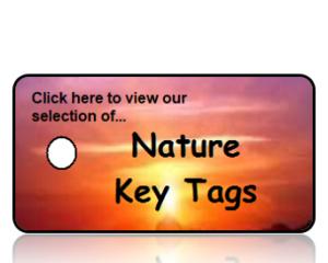 Nature Key Tags
