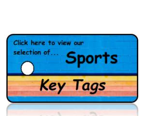 Sports Key Tags