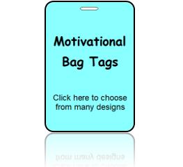 Motivational Bag Tags