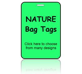 Nature Bag Tags