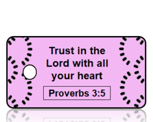 Proverbs 30:15 Bible Scripture Key Tag