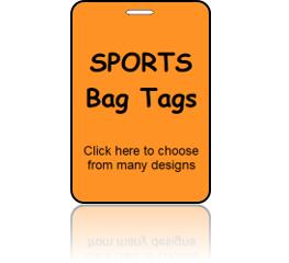 Sports Bag Tags