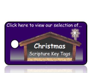 Christmas Bible Scripture Key Tags