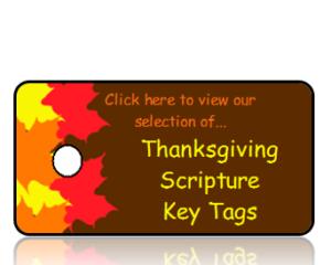 Thanksgiving Bible Scripture Key Tags
