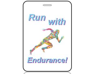 Create Design Bag Tags Run With Endurance