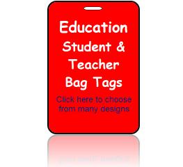 Education Bag Tags