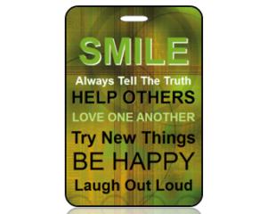 Smile Bag Tags