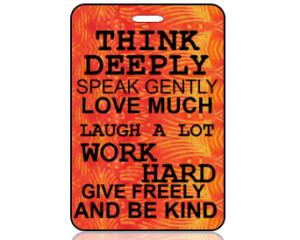 Think Bag Tags
