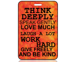 Think Bag Tags