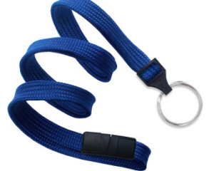 Breakaway Lanyard Royal Blue