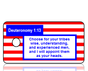 Election Day Scripture Key Tags