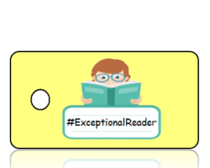 Exceptional Reader Hashtag Key Tags
