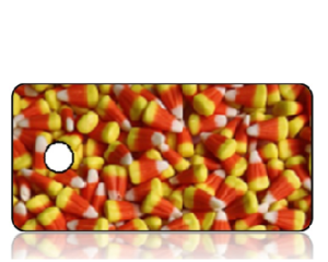 Create Design Key Tags Candy Corn