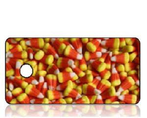 Create Design Key Tags Candy Corn