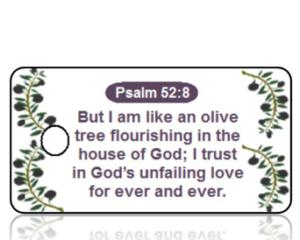 Psalm 52:8 Bible Scripture Key Tags