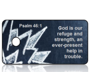 Psalm 46:1 Bible Scripture Key Tags