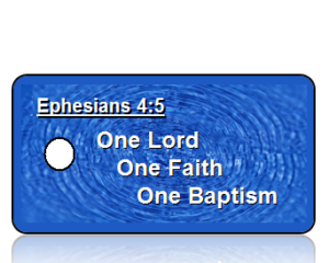Ephesians 4:5 Bible Scripture Key Tags