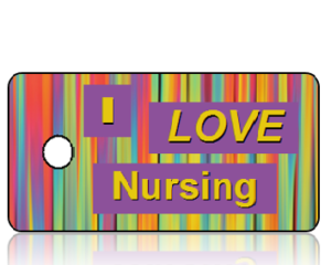 I Love Nursing Key Tags