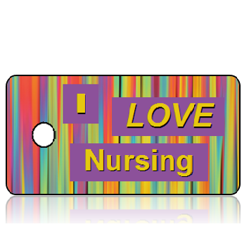 Love13 - I Love Nursing Key Tags