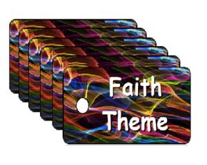 Vacation Bible School Faith Theme Scripture Tags