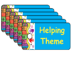 Vacation Bible School Helping Theme Scripture Tags