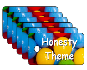 Vacation Bible School Honesty Theme Scripture Tags