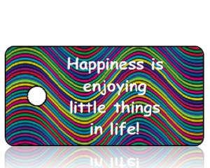 Happiness Inspirational Key Tags