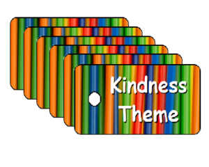 Vacation Bible School Kindness Theme Scripture Tags