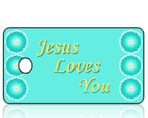 Jesus Loves You Key Tags