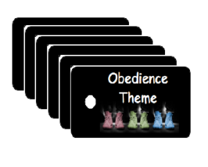 Vacation Bible School Obedience Theme Scripture Tags