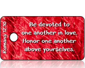 Romans 12:10 Bible Scripture Tags