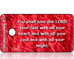 Deuteronomy 6:5 Bible Scripture Tags