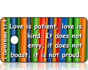 1 Corinthians 13:4 Bible Scripture Tags