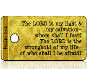 Psalm 27:1 Bible Scripture Tags
