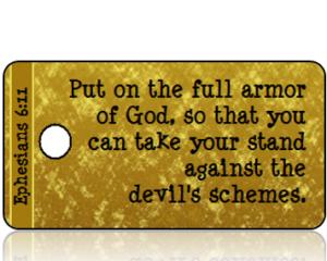 Ephesians 6:11 Bible Scripture Tags
