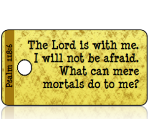 Psalm 118:6 Bible Scripture Tags