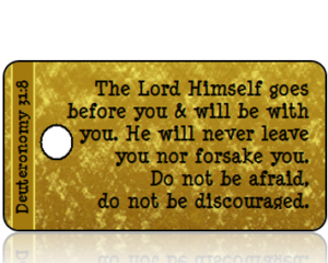 Deuteronomy 31:8 Bible Scripture Tags
