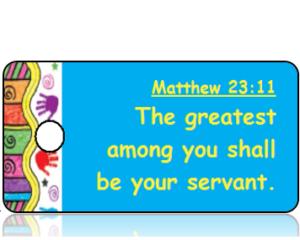Matthew 23:11 Bible Scripture Tags