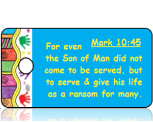 Mark 10:45 Bible Scripture Tags